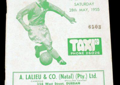 Natal v Stan Matthews XI 28.05.1955