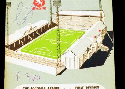 Aston Villa v Manchester United 09.04.1963