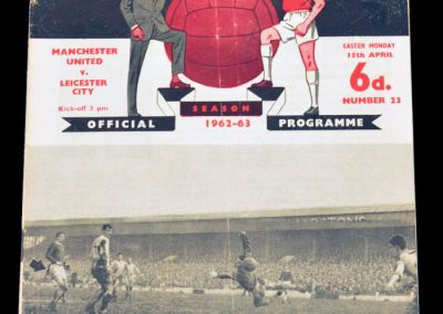 Leicester City v Manchester United 15.04.1963