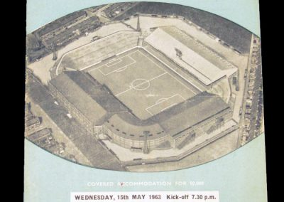 Manchester City v Manchester United 15.05.1963
