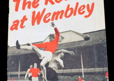 Road To Wembley Souvenir Brochure