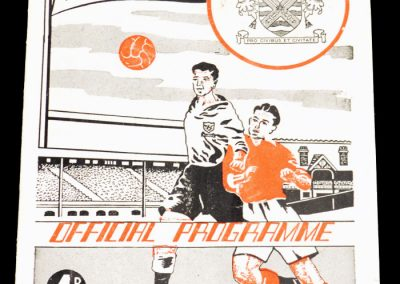 Fulham FC v Middlesbrough 02.04.1955