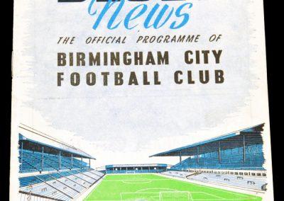 Birmingham City v Middlesbrough 11.04.1955
