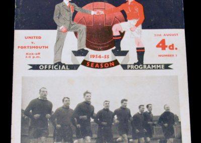 Portsmouth v Manchester United 21.08.1954