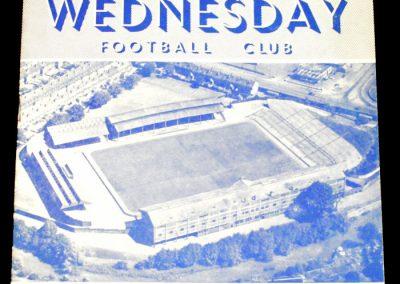 Sheffield Wednesday v Manchester United 23.08.1954