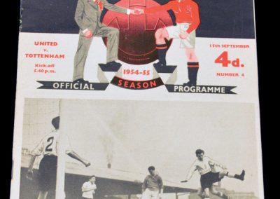 Tottenham Hotspur v Manchester United 15.09.1954