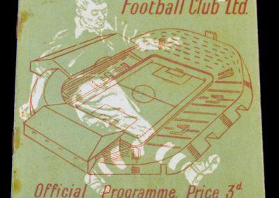Manchester City v Manchester United 25.09.1954