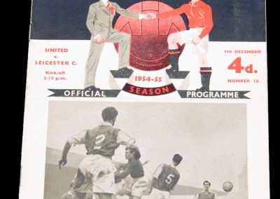 Leicester City v Manchester United 04.12.1954