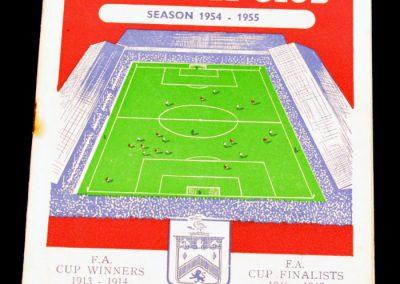 Burnley FC v Manchester United 11.12.1954