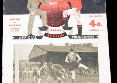Everton v Manchester United 19.03.1955