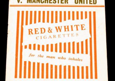 Charlton Athletic v Manchester United 26.04.1955