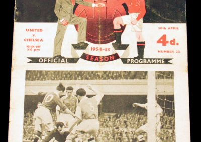 Chelsea v Manchester United 30.04.1955