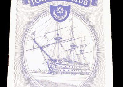 Portsmouth FC v Arsenal 26.02.1955