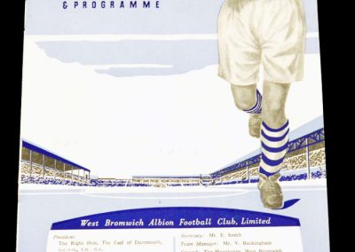 West Bromwich Albion v Arsenal 28.08.1954