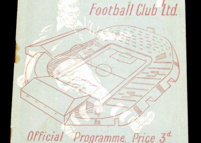 Manchester City v Arsenal 08.09.1954