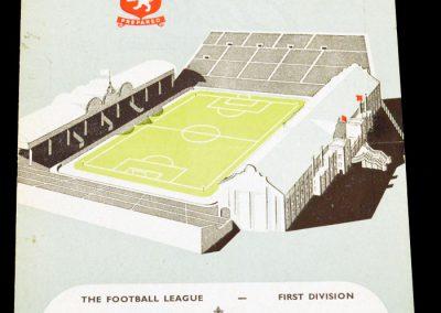 Aston Villa v Arsenal 23.10.1954