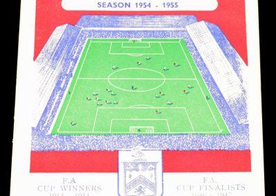 Burnley FC v Arsenal 12.02.1955