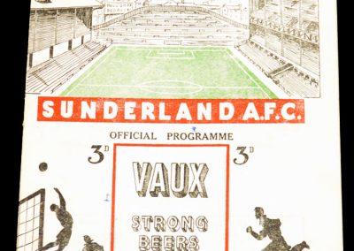 Sunderland v Arsenal 19.03.1955