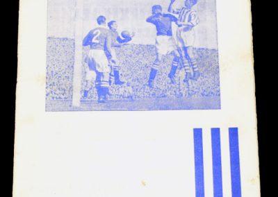 Huddersfield Town v Arsenal 02.04.1955