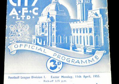 Cardiff City v Arsenal 11.04.1955