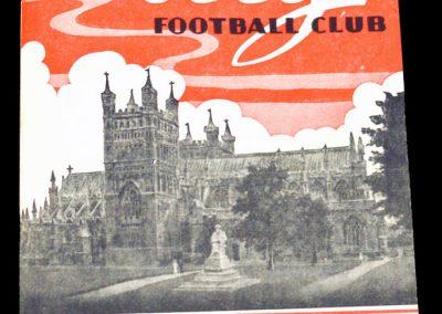 Exeter City v Southampton 07.09.1957