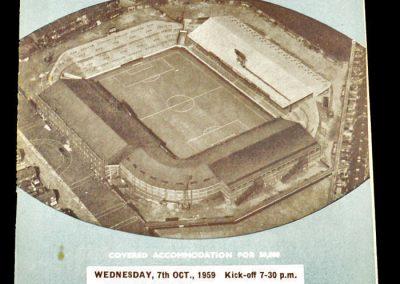 Manchester City v Grenchen 07.10.1959