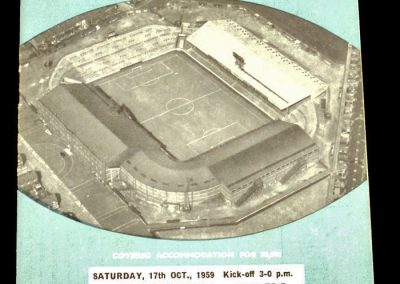 Manchester City v Leicester City 17.10.1959