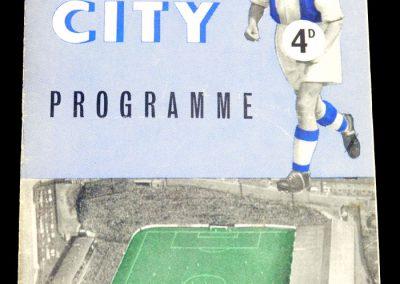 Coventry City v Southampton 12.10.1957