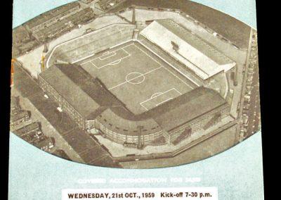Manchester City v St. Mirren 21.10.1959