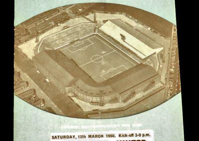 Manchester City v Manchester United 12.03.1960 | Friendly