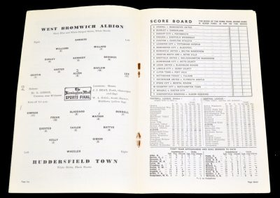 Huddersfield Town v West Bromwich Albion 23.04.1955