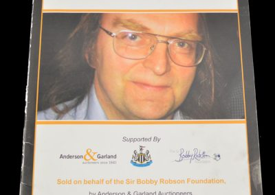 These programmes all belonged to John Alder | RIP John