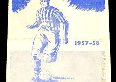 Colchester United v Southampton 01.05.1958