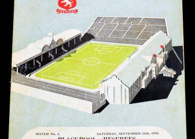 Aston Villa v Newcastle United 13.09.1954