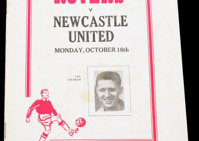 Doncaster Rovers v Newcastle United 18.10.1954