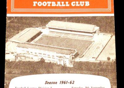 Arsenal v Manchester City 09.09.1961