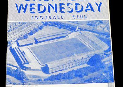 Sheffield Wednesday v Newcastle United 04.12.1954