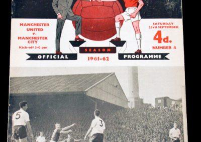 Manchester United v Manchester City 23.09.1961