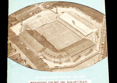 AC 'Torino' v Manchester City 11.10.1961