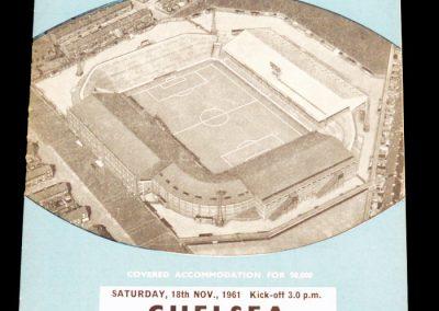Chelsea v Manchester City 18.11.1961