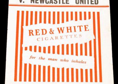 Charlton Athletic v Newcastle United 02.04.1955
