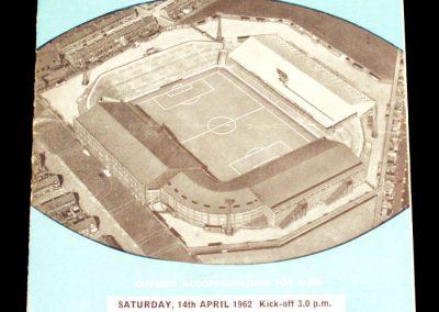 Aston Villa v Manchester City 14.04.1962