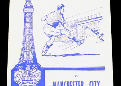 Blackpool FC v Manchester City 21.04.1962