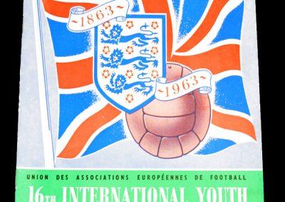 International FA Youth Tournament 11-23.04.1963