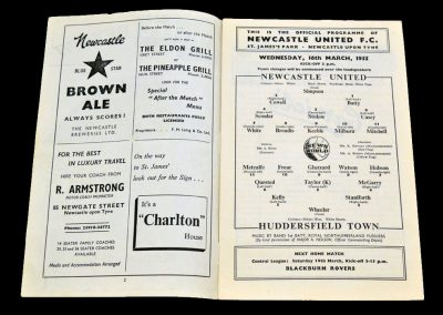 Huddersfield Town v Newcastle United 16.03.1955 | FA Cup 6th Round Replay