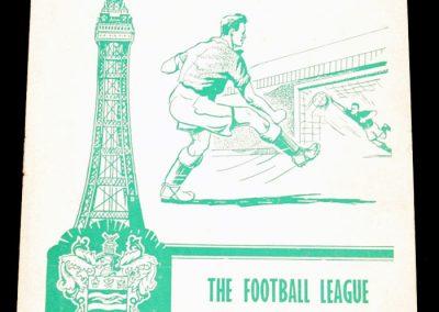 English League v Irish League 12.10.1960