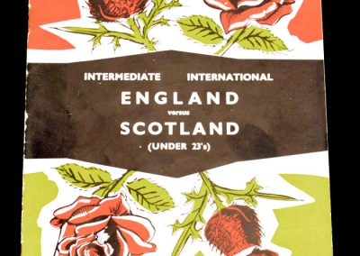 England v Scotland 01.03.1961