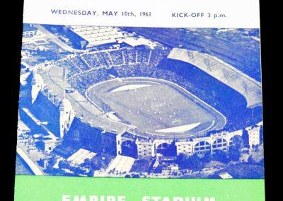 England v Mexico 10.05.1961
