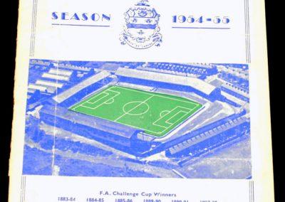 Blackburn Rovers v West Ham United 23.08.1954