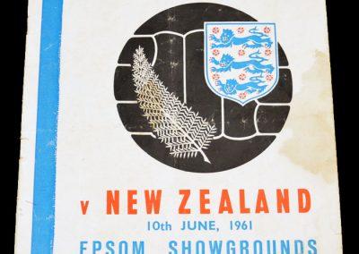 New Zealand v FA English League 14.06.1961